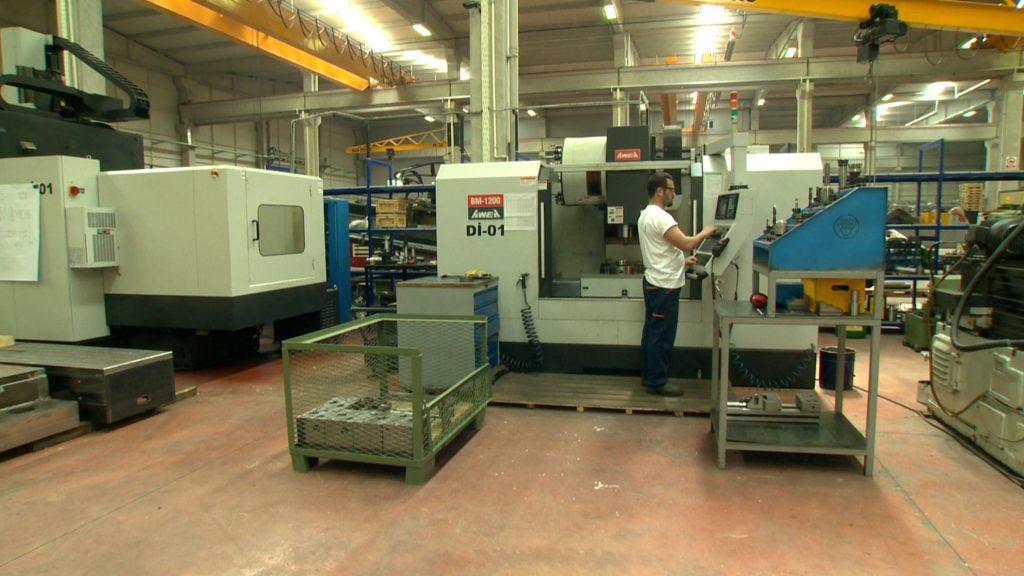 Manufacturing Vibro Hammer - Yatay İşleme Merkezi