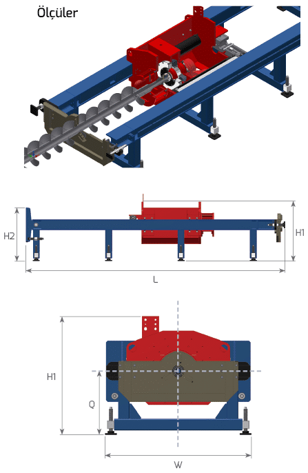 OMS Guided Boring Machines