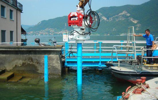 Excavator Mounted Hydraulic Vibratory Hammer OVR 40 S - Zilliani