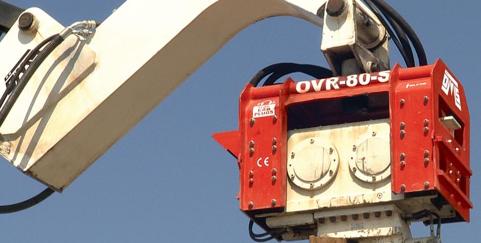 Ekskavatöre Monteli Vibro Çakıcı - ÖVR 70 VM