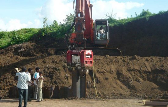 Excavator Mounted Hydraulic Vibratory Hammer OVR 80 S - Hindistan