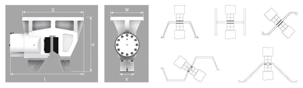 SCN Serisi Hidrolik Çenelerin Teknik Özellikleri