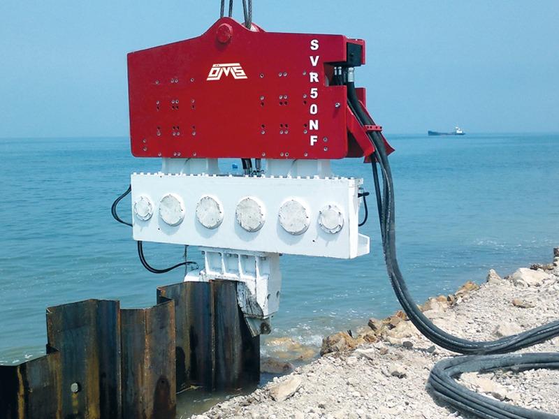 Crane Suspended Piling Equipment SVR 50 NF - Samsun