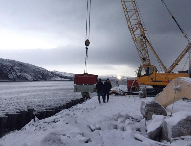 SVR 80 NF Murmansk - Driving Piles