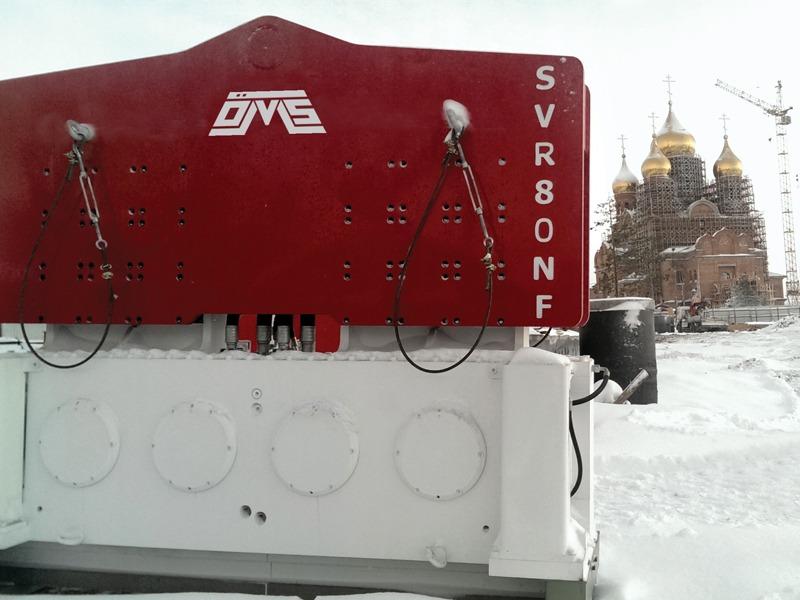 Crane Suspended Piling Equipment SVR 80 NF - RUSYA