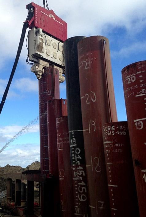 Crane Suspended Vibratory Drivers SVR 101 NF - RUSYA
