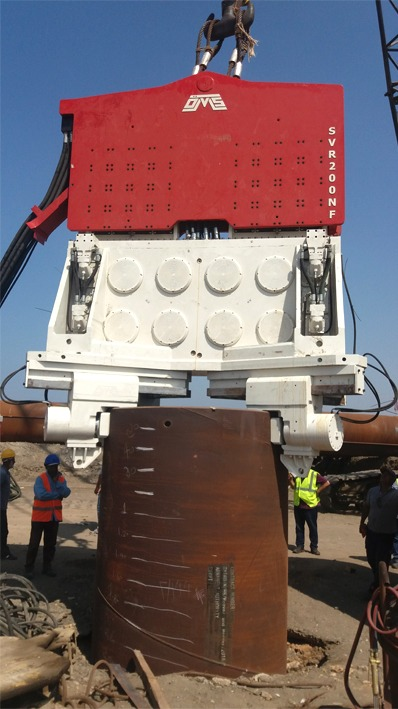 SVR200NF - Vibro Hammer - Egypt Suez Canal Project