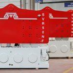 Vibratory Hammer SVR 50 NF - Manufacturing Plant