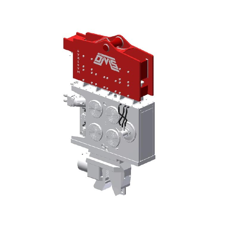Crane Suspended Vibro Hammer SVR 10 VM Rental