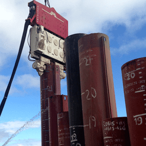 Crane Suspended Vibro Hammer SVR 101 NF Rental