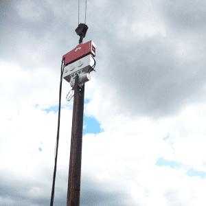 Crane Suspended Vibratory Hammer SVR 25 NF Rental