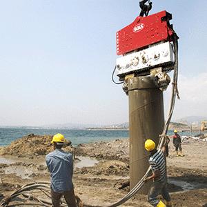 Construction Equipment Vibro Hammer SVR 50 NF