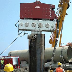 Crane Suspended Vibro Hammer SVR 50 NF Rental