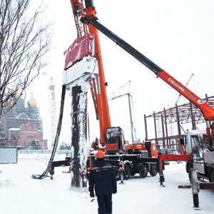 Crane Suspended Vibro Hammer SVR 80 NF Rental