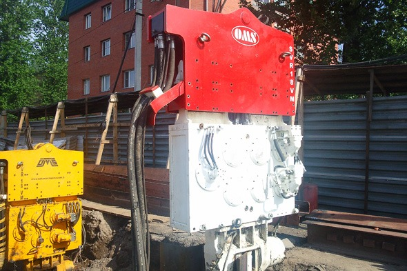 Variable Moment Vibro Hammer SVR18VM - Saint Petersburg